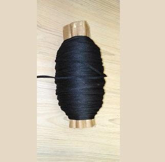 Elastico morbido nero 5 mm adatto anche per mascherine