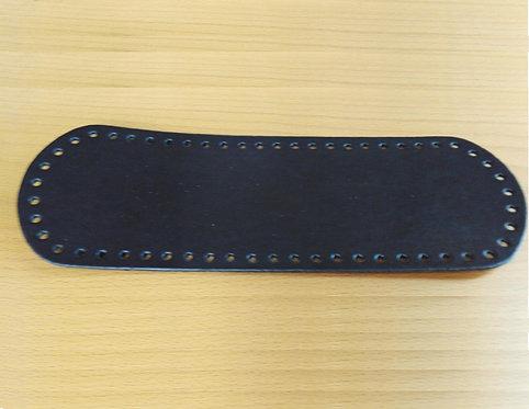 Fondo per borsa cm 10x30 colore nero