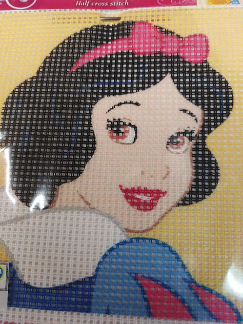 Kit mezzo punto Disney completo di ago e fili cm 12x15