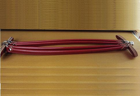 Manico per borsa rosso scuro cm 52x2 (un pezzo)