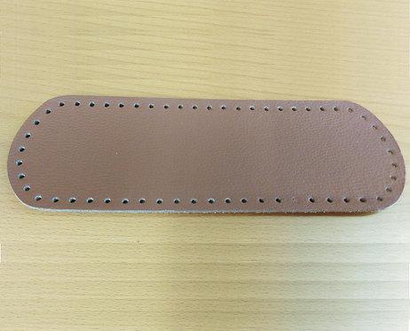 Fondo per borsa cm 10x30 colore marrone