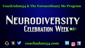 Neurodiversity Celebration Week: ADHD/dyslexia/autism/dyspraxia-not a disability