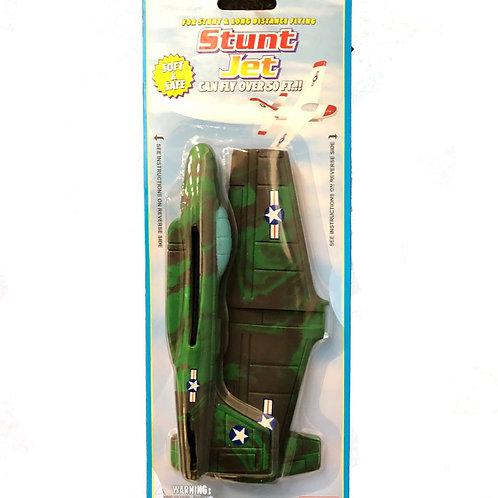 Stunt Jet, green camouflage