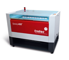 Trotec Speedy400 laser cutter & engraver