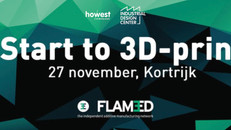 START TO 3D-PRINT: INFOAVOND OP 27 NOVEMBER