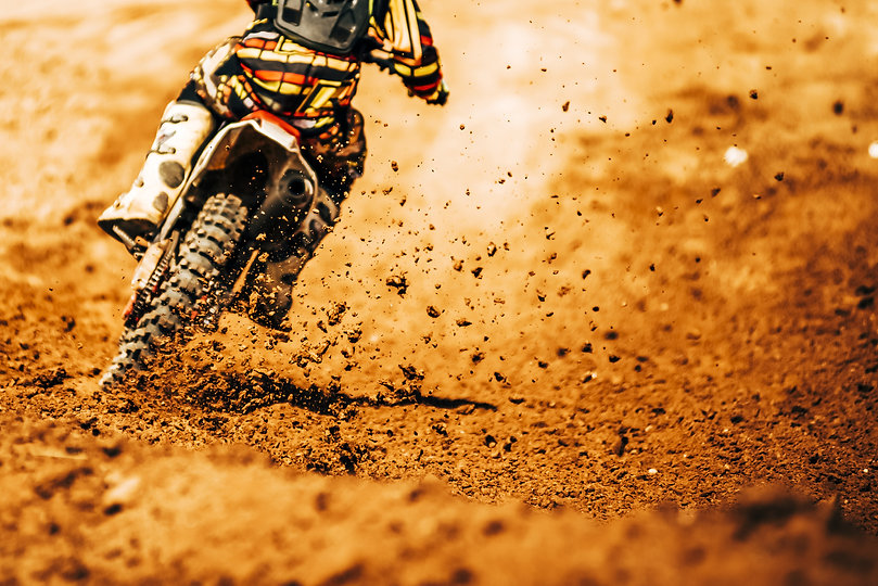 Details of debris in a motocross race.jpg