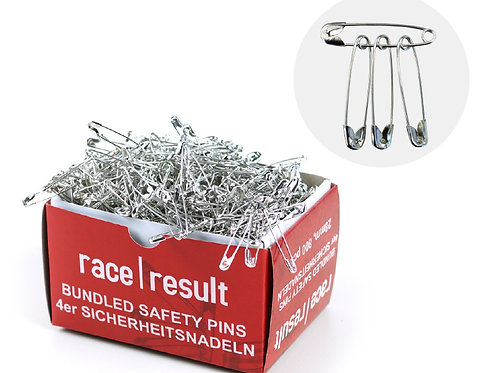 Bundled (4's) Safety Pins, 800 pcs.