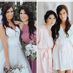 Make up and hair on bridesmaid - __nikki