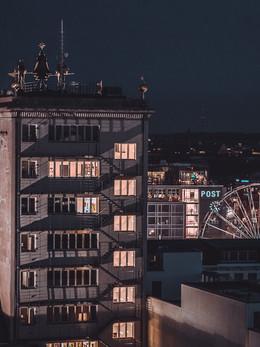 Krochhochhaus. Leipzig. Augustusplatz.