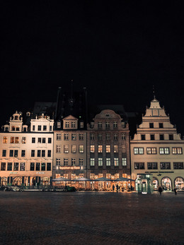 Marktplatz. Leipzig.
