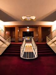 Treppenaufgang. Oper Leipzig.