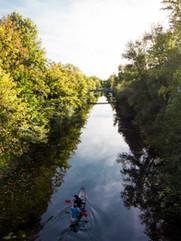 Karl-Heine-Kanal. Leipzig.