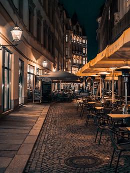 Barfußgässchen. Leipzig.