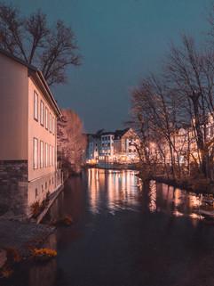 Flutgraben. Erfurt.