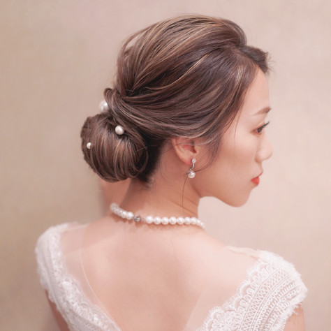 hair and makeup by my dear mrs