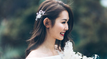 Girly and Stylish Bridal Look