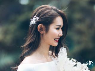Girly and Stylish Bridal Look