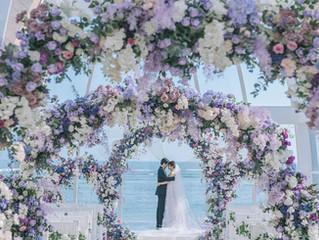 Jenny and Jason's wedding at Ritz Carlton in Bali