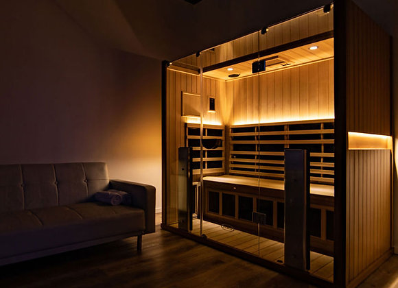 5 Infrared Sauna Sessions