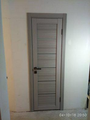 Межкомнатная дверь с наличником