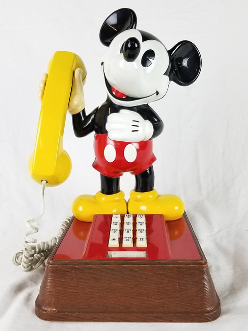 Vintage Mickey Mouse phone