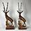 Thumbnail: Wooden Buck Statue
