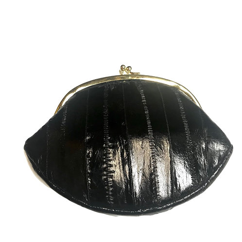 Lee Sands Black clutch/coin purse