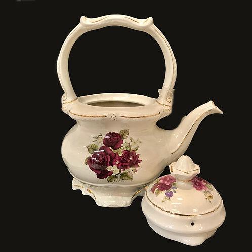 Crown Dorset Burgundy Teapot