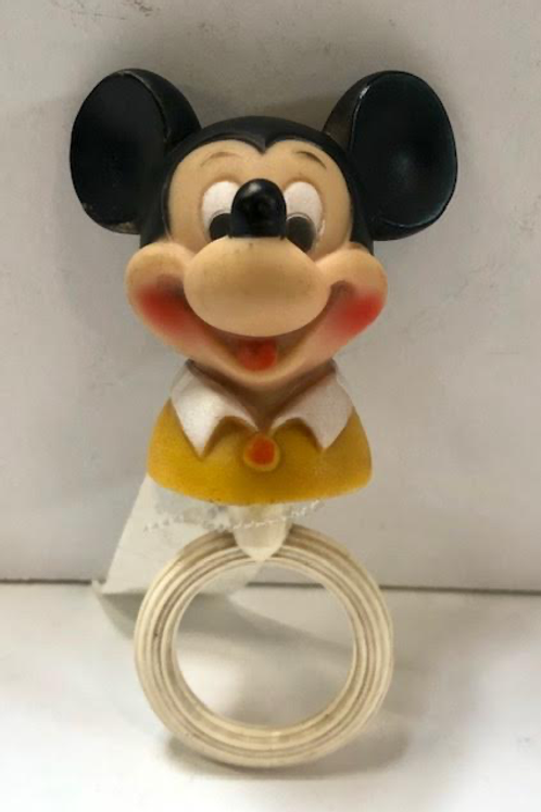 Antique Mickey Mouse Rattle