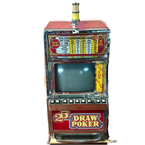 Poker Slot Machine 25c