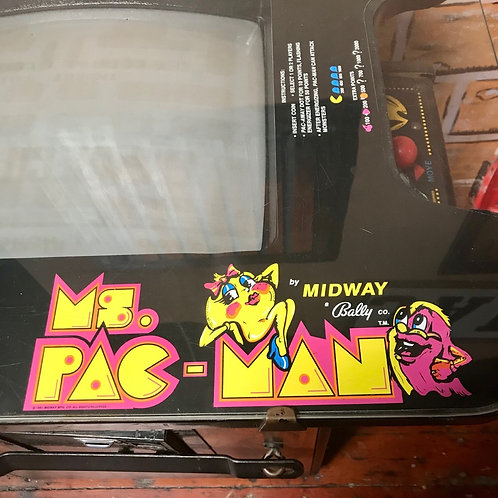 1980's Ms. Pac-Man Arcade Game- Works