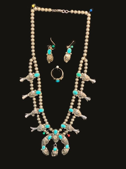 Necklace, Earring, Ring Set