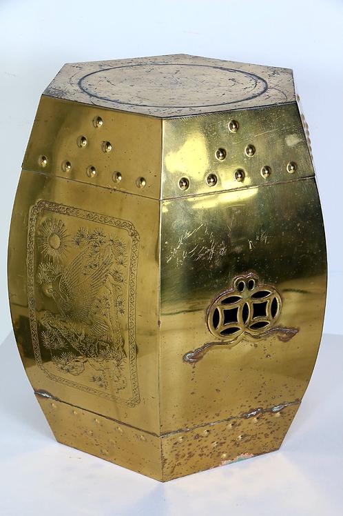 Brass Asian Stool