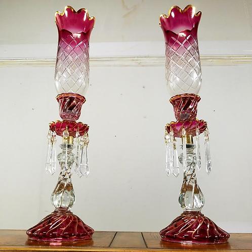 set of two French Candelabras Girandoles