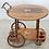 Thumbnail: Hollywood Regency Italian Inlaid Tea Bar Cart