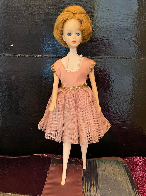 "Madame Alexander ""Sonja Henie"" Doll, Brenda Starr model from 1964."