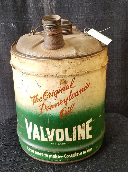 Antique Valvoline Motor Oil Can