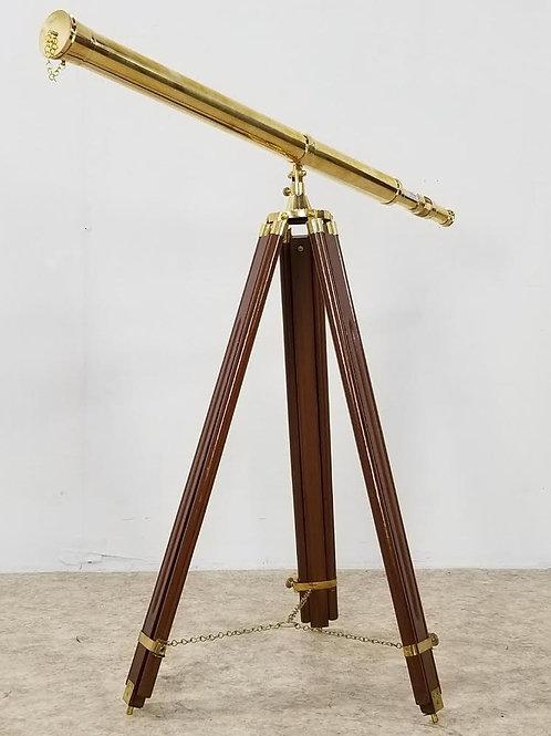 Nautical brass master telescope