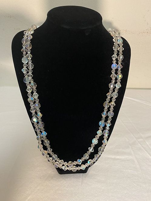 """CRYSTAL NECKLACE 27"""""""