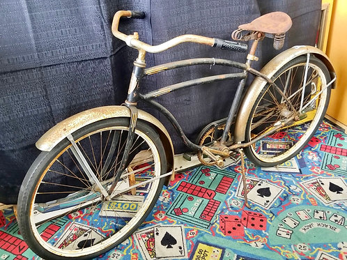 1940's American Flyer Skip Tooth Bicycle