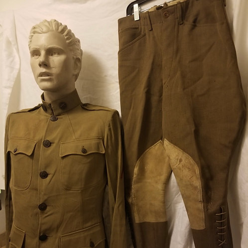 WWI US Army Tunic/Saddle knee pants
