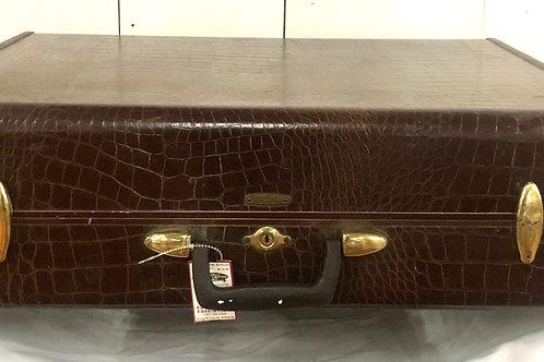 Brown Samsonite Suit Case