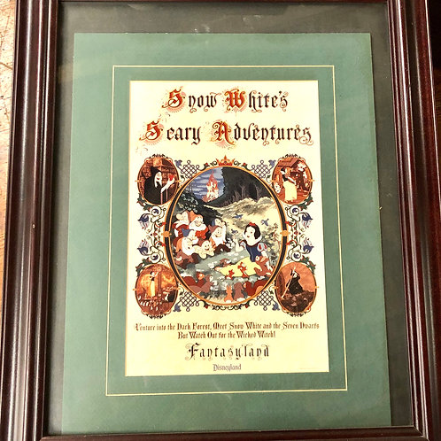 1983 Snow White Disney Framed Picture