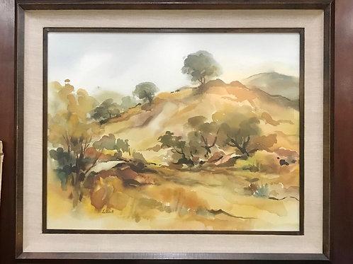 Arthur Elliot Landscape on Vintage Frame