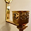 Thumbnail: Wall Brass Italian candle holders Pair