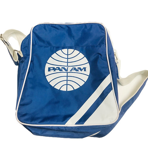 Pan Am Blue/White Bag