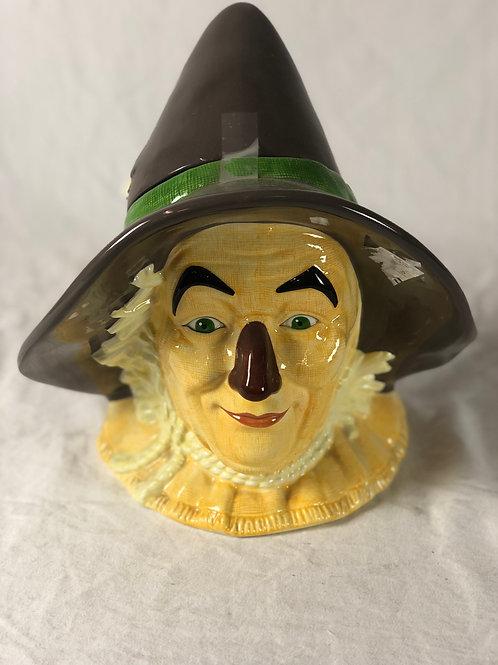 Wizard of OZ Cookie Jar- Scarecrow