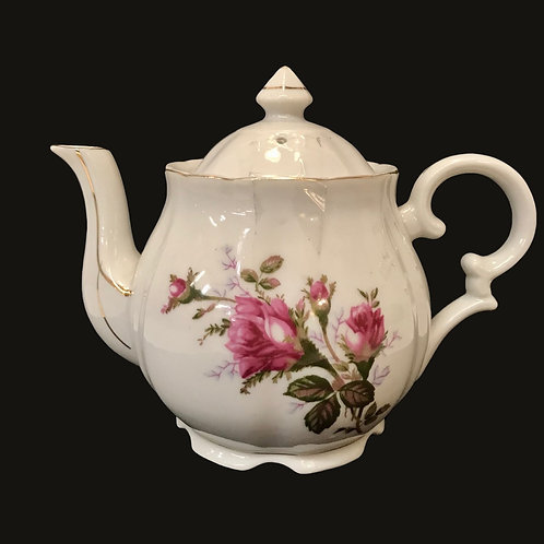 Moss Rose Tea Pot