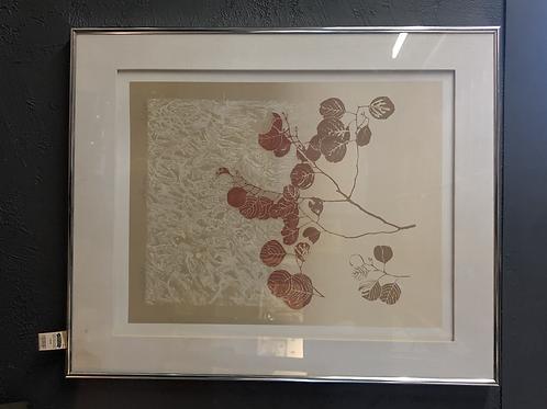 Vintage Original Signed Eucalyptus Picture