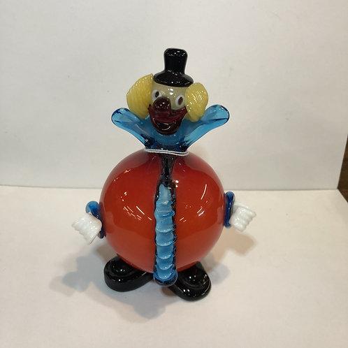 Murano Red Clown